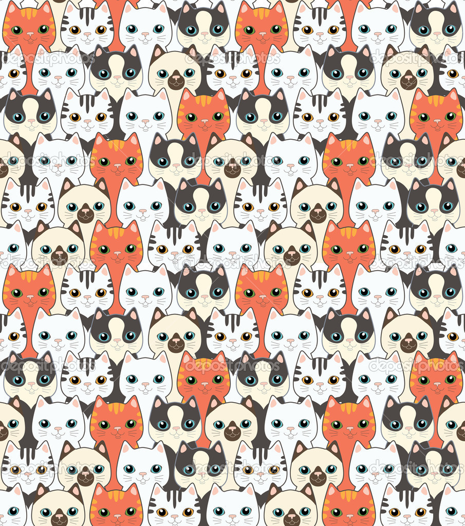 depositphotos_14077455-Funny-cartoon-cats.-Seamless-pattern